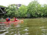 June 7 Kayaking down the Mahoning River